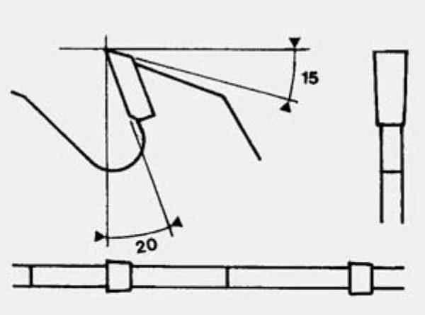 Disco para corte longitudinal madera D300 plano