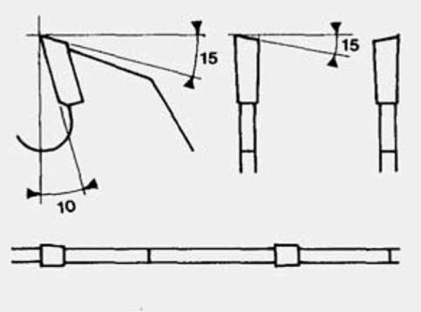 Disco para paneles recubiertos con diente alterno D250 plano