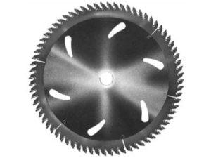 Disco para seccionadora con diente recto-trapecial D300/d30